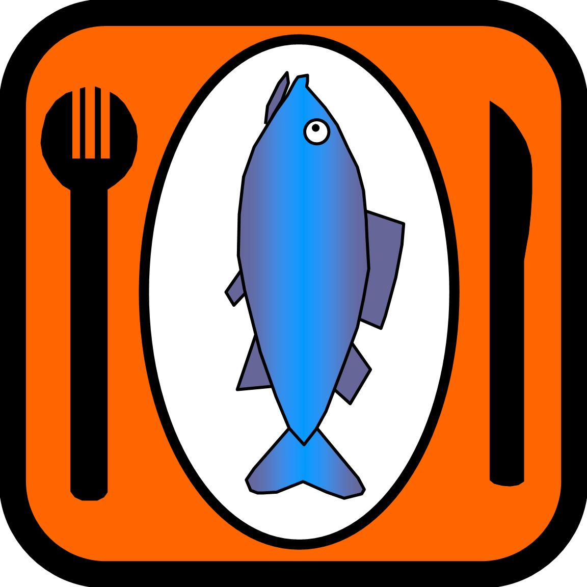 icon of eating fish